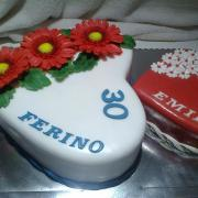 Torta pre otecka a dcerku