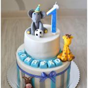 Torta So zvieratkami pre Tomáška