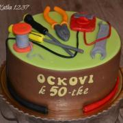 Torta narodeninová pre elektrikára