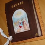 Torta birmovná kniha s ručnou maľbou