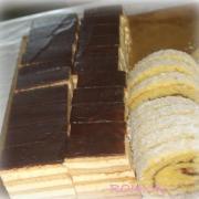 Torta medový rez + kokosová roláda