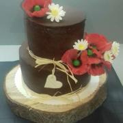 Torta S divými makmi