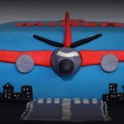 Torta lietadlo pre nášho Mireka