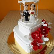 Torta Svadobná s altánkom