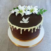 Torta na birmovku čokoládová