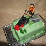 Torta Pán s kosačkou
