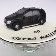 Torta Mercedes pre veľkého fanúšika tejto značky ;)