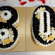 Torta penová jubilejná.