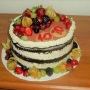 """Torta """"nahá torta""""-moja prvá"""