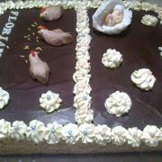 Torta Pre dve detičky podla želania