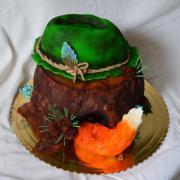 Torta Poľovnícka s líščim chvostíkom
