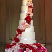Torta Svadobná so živými kvetmi..