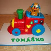 Torta obľúbená hračka