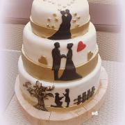 Torta svadobný príbeh