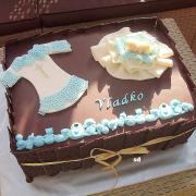 Torta krstinová čoko