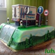 Torta Torta s kamionom