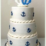 Torta Svadobná námornícka :)
