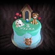 Torta so zvieratkami