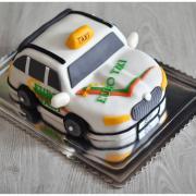 Torta Auto pre majiteľa taxi služby