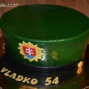 Torta policajná čiapka