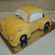 Torta narodeninové auto