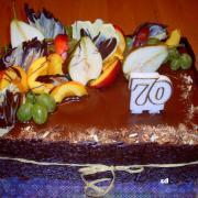 Torta čokoládovo ovocná