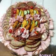 Torta obložené misy