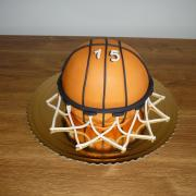 Torta Basketbalová lopta