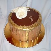 Torta čoko svadobná