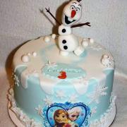 Torta Olaf