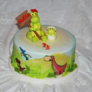 Torta dinosaurikova
