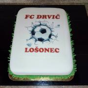 Torta Futbalová