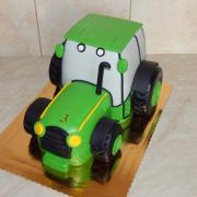 Torta Traktor