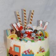 Torta S vlačikom