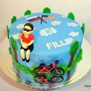 Torta cyklista