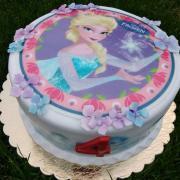 Torta Narodeninová Frozen