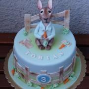 Torta So zajačikom