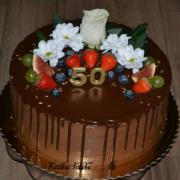 Torta čokoládová k 50tke