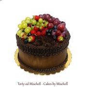 Torta Jednoduchá čoko - ovocná ...