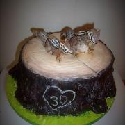 Torta sibírske veveričky