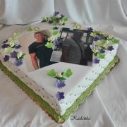 Torta Dezertík na dvoj výročie...