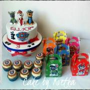 Torta Paw patrol party