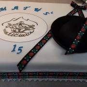 Torta 15 ročný matičiarik
