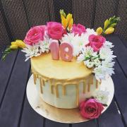 Torta Kvetinová