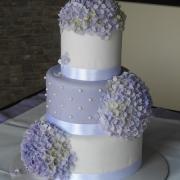 Torta Fialové hortenzie