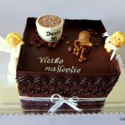 Torta čokoládová s anjelikmi