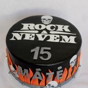 Torta Rockerská narodeninová :-)