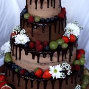 Torta Svadobna drip
