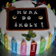 Torty Torty - škola, stužková