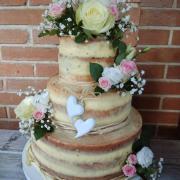 Torta So živými kvetmi